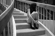 Stairway to nowhere Artistic Nude Photo print by Photographer Tim Ash