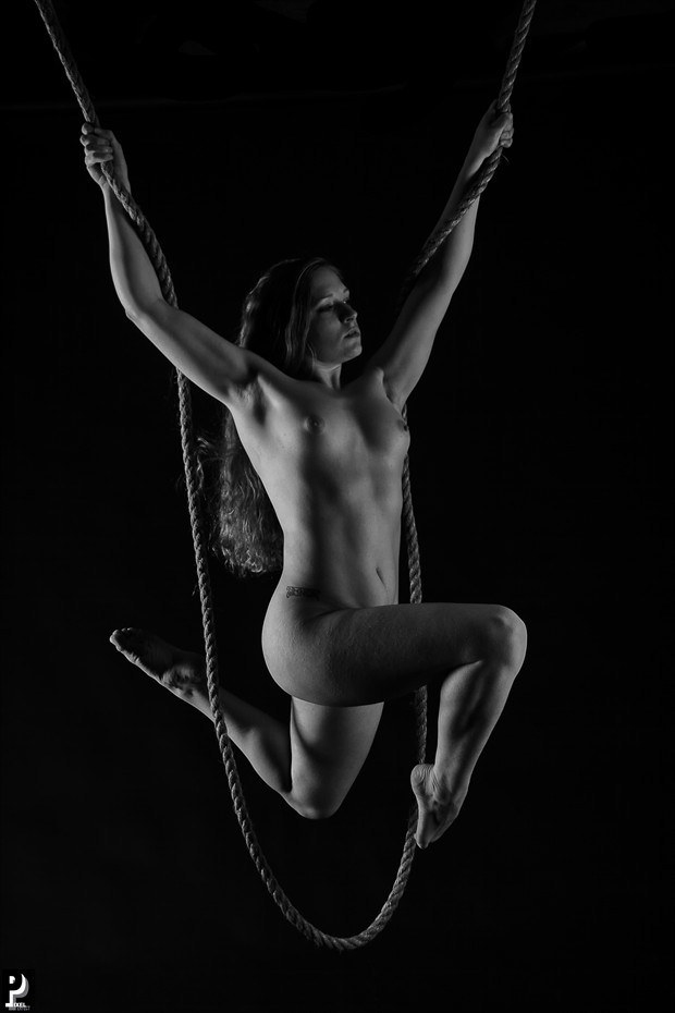 Strength!! Artistic Nude Artwork print by Photographer Thom Peters Photog