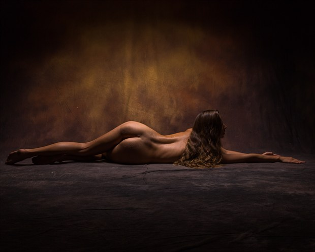 Stretching Artistic Nude Photo print by Photographer Stephen Wong