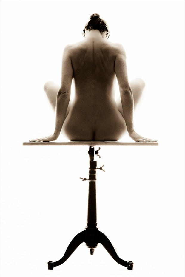 Studio Muse Artistic Nude Photo print by Photographer Black Wings