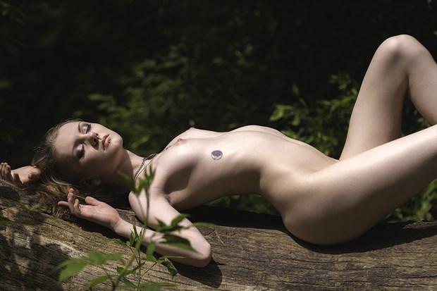 Sun Bath Artistic Nude Photo print by Photographer ResolutionOneImaging