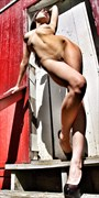 Sun lover Artistic Nude Photo print by Photographer Slight Of Hand Images