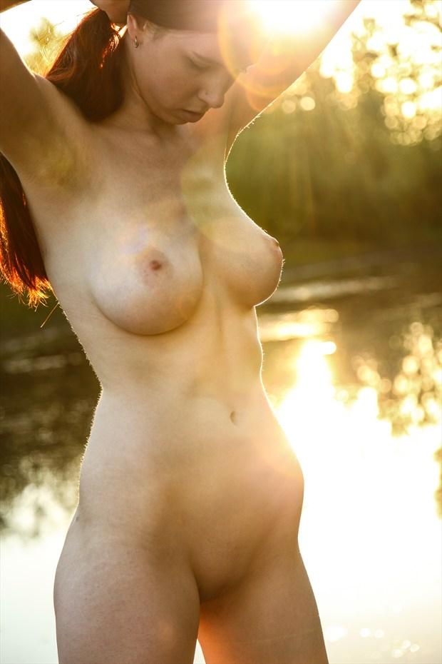 Sunflair Artistic Nude Photo print by Photographer Joe Klune Fine Art