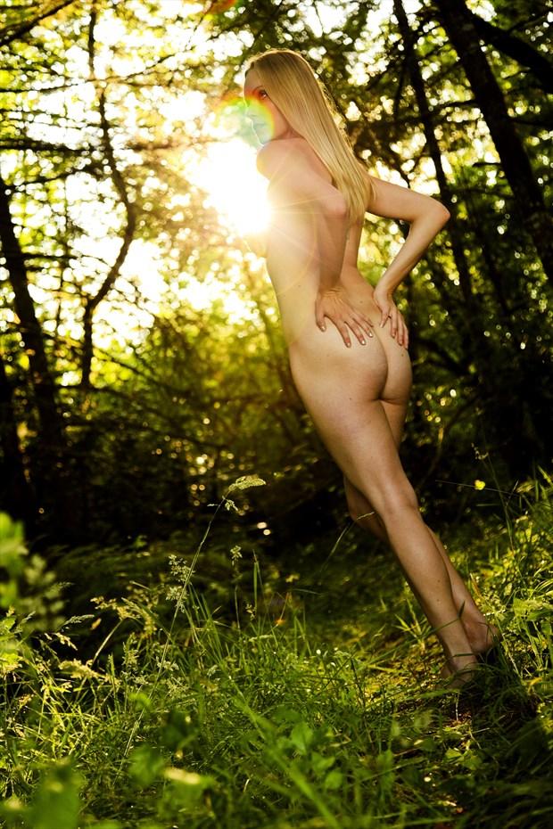 Sunflare Artistic Nude Photo print by Photographer Joe Klune Fine Art