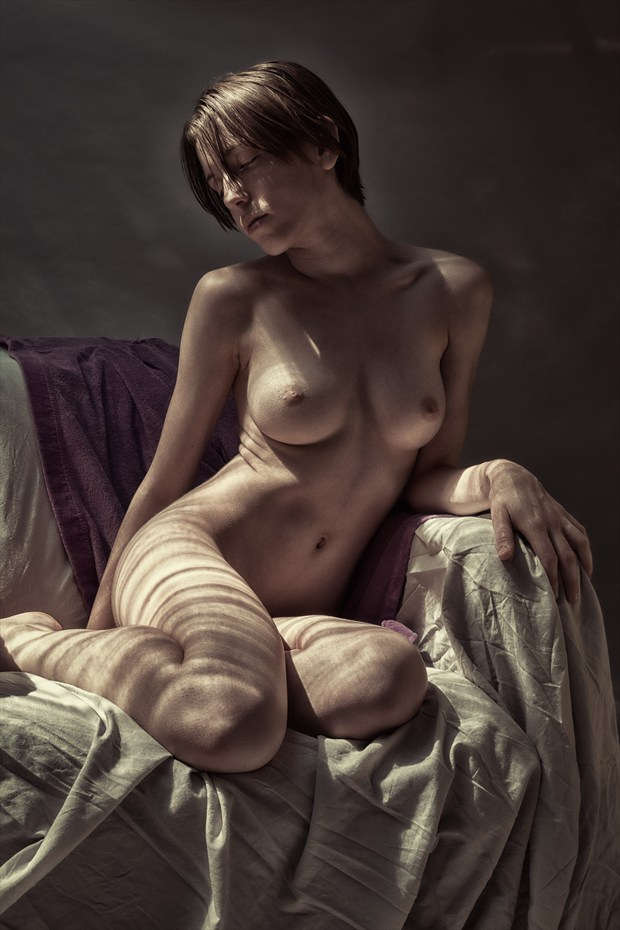 Sunset   Porch Series Artistic Nude Photo print by Photographer rick jolson