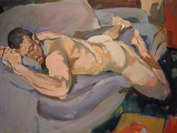 Sweet Dreams Artistic Nude Artwork print by Artist paulryb