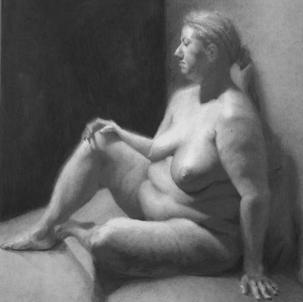 T Artistic Nude Artwork print by Artist JFisher86