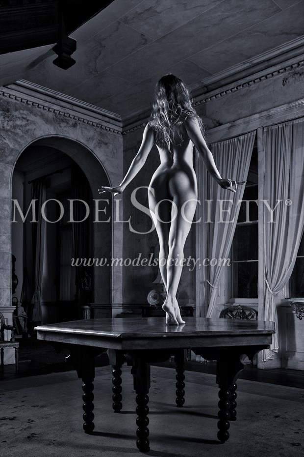 Table Decor Artistic Nude Photo print by Photographer Carl Grim