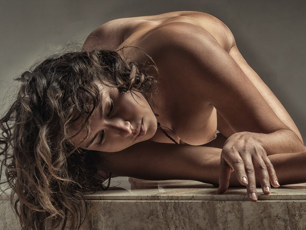Tabled for further Discussion Artistic Nude Photo print by Photographer rick jolson