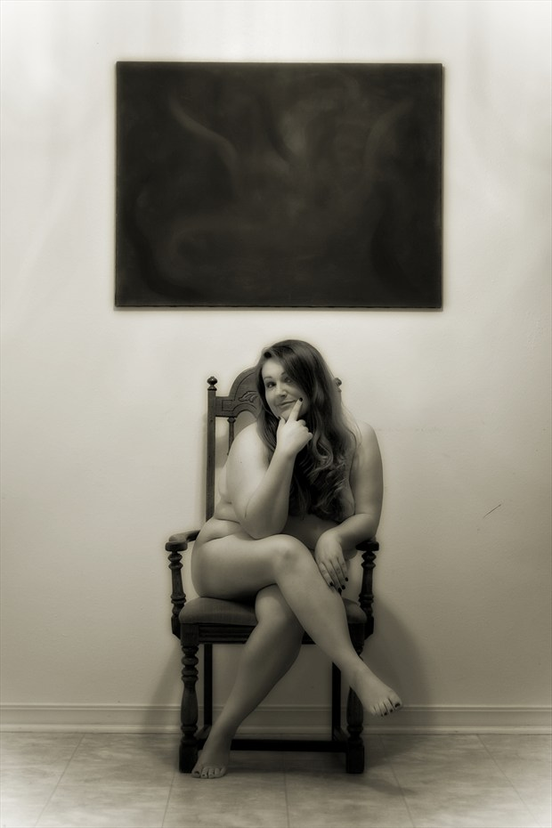 The Artist Artistic Nude Photo print by Photographer Frisson Art