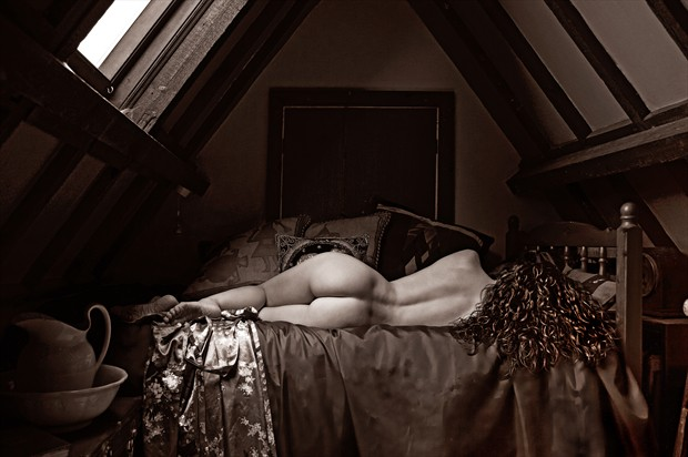 The Attic Artistic Nude Photo print by Photographer Ray Kirby