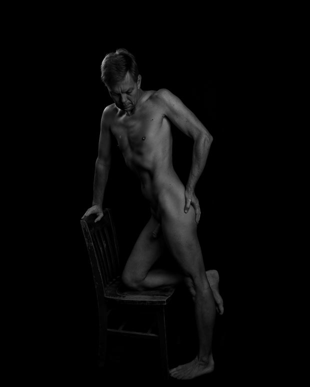 The Chair Artistic Nude Photo print by Photographer rdp