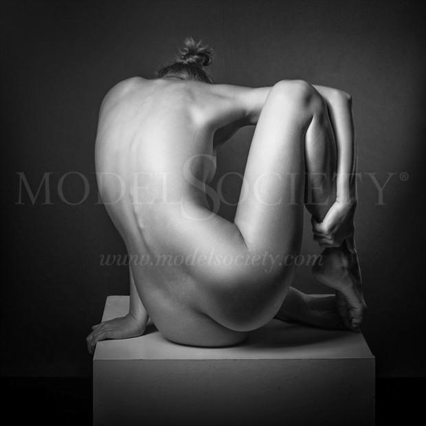 The Cube Artistic Nude Photo print by Photographer Andrey Stanko