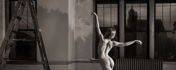 The Dancer Artistic Nude Photo print by Photographer Bill Cole