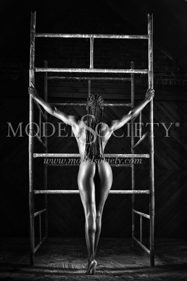 The Decorator Artistic Nude Photo print by Photographer Carl Grim