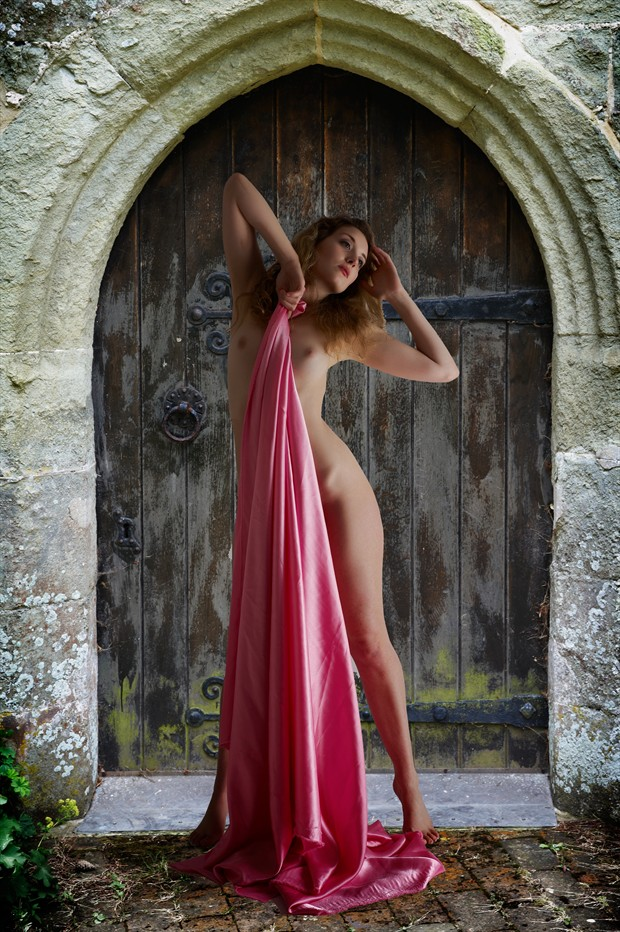 The Doorway Artistic Nude Photo print by Photographer Ray Kirby