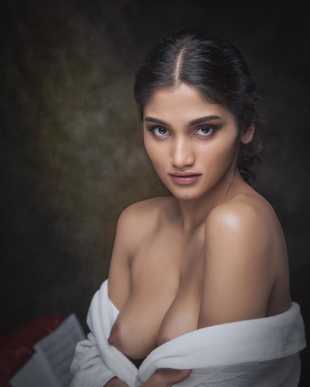 The Eyes Have It Artistic Nude Photo print by Photographer PhotoRP