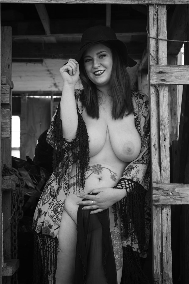 The Gypsy in the hat Tattoos Photo print by Photographer Frisson Art
