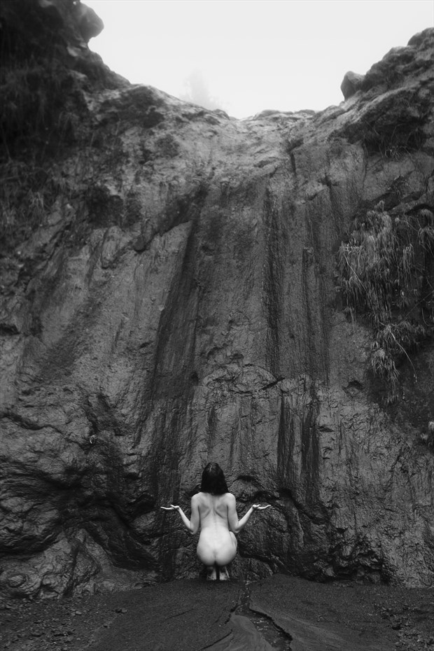 The Offering Artistic Nude Photo print by Photographer Opp_Photog