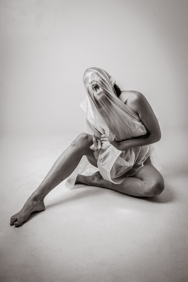 The Struggle Within Studio Lighting Photo print by Photographer Frisson Art