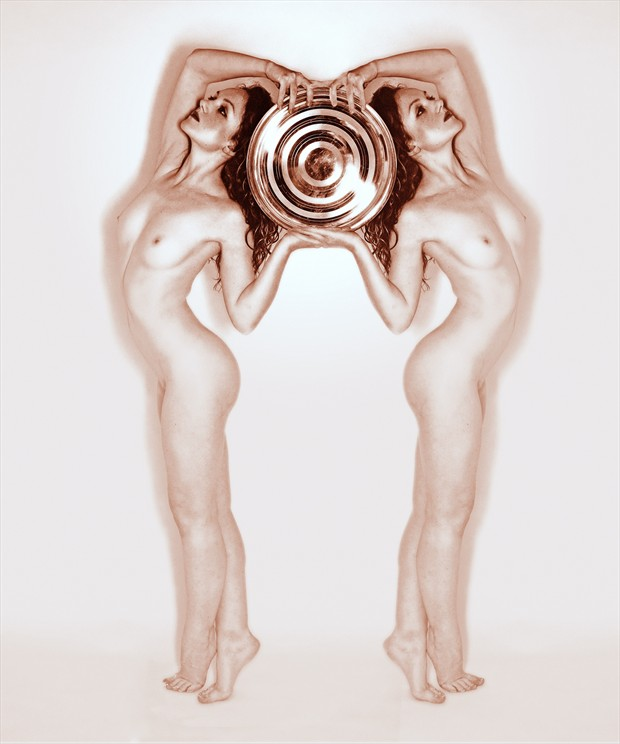 The Twins Artistic Nude Photo print by Photographer Ray Kirby