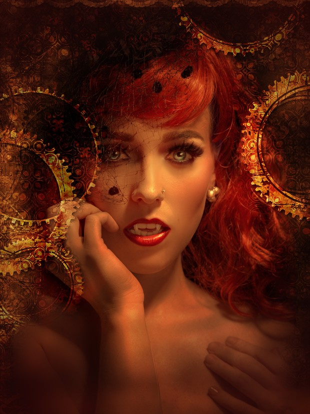 The Vamp Fantasy Artwork print by Photographer gracefullywicked