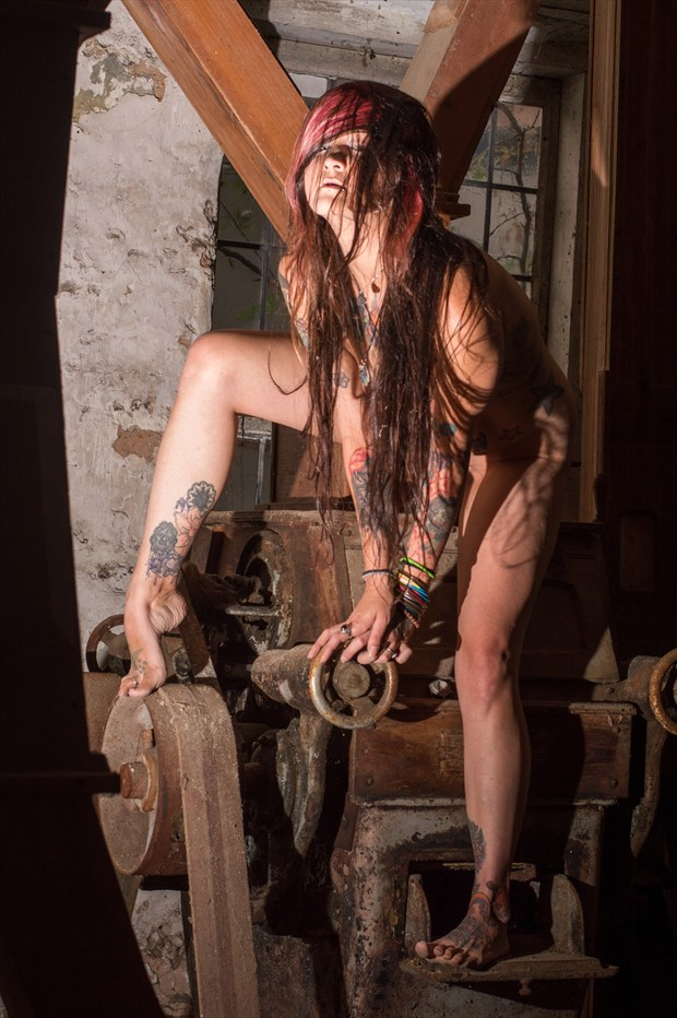 The Witch of the Woodmill Tattoos Artwork print by Photographer ShenValley Imagery