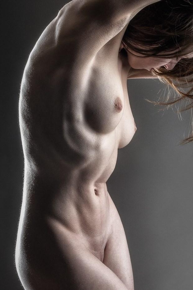 Tight Tummy   Poly Artistic Nude Photo print by Photographer rick jolson