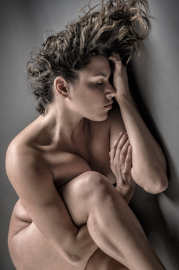 Tighter Knot Artistic Nude Photo print by Photographer rick jolson