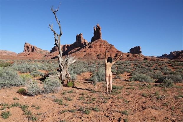 Time Circles Artistic Nude Photo print by Photographer David Winge