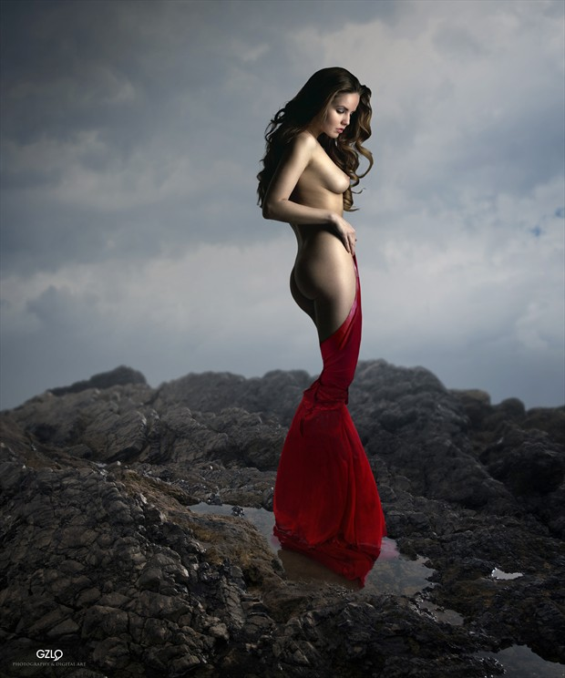 Top  Artistic Nude Photo print by Artist GonZaLo Villar