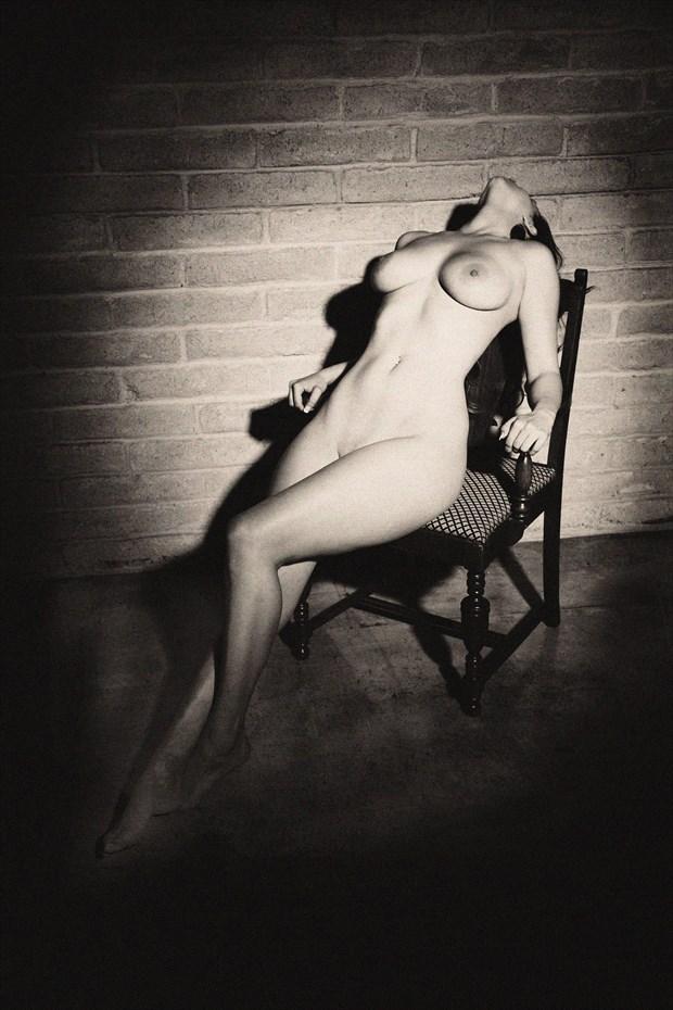 ToriChair2a Glamour Photo print by Photographer Joe Klune Fine Art