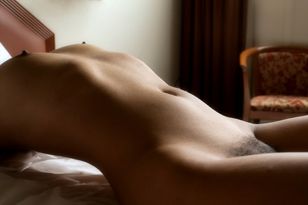 Touch Artistic Nude Photo print by Photographer David Winge