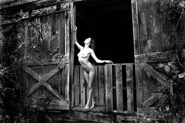 TrishaBarn Artistic Nude Photo print by Photographer Joe Klune Fine Art