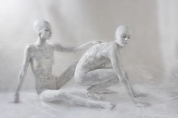 Trust Artistic Nude Photo print by Photographer Jos%C3%A9 M. Mendez