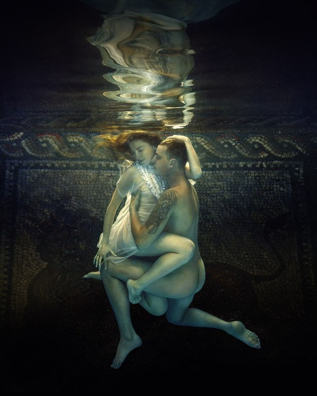 Two Artistic Nude Photo print by Photographer dml