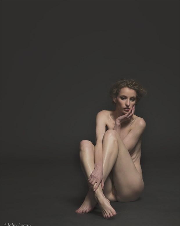 Unsure Artistic Nude Photo print by Photographer John Logan