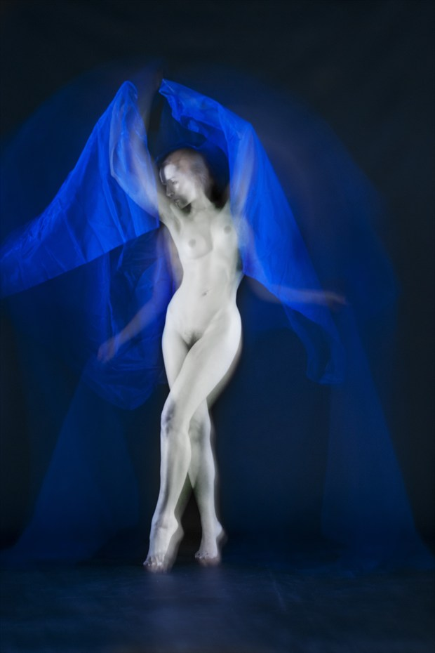 Untitiled with Cassie Jade Artistic Nude Photo print by Photographer Mark Bigelow