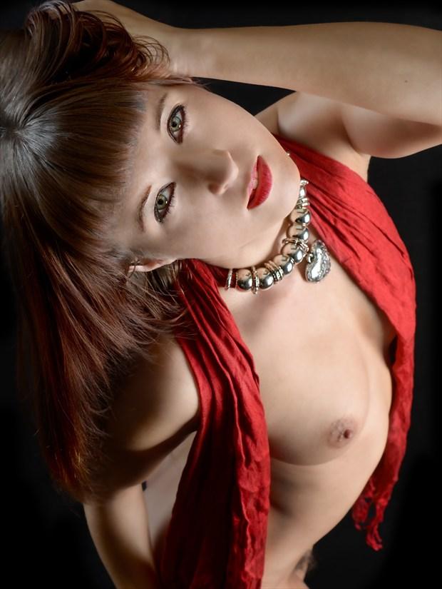 Upward Artistic Nude Photo print by Photographer Kor