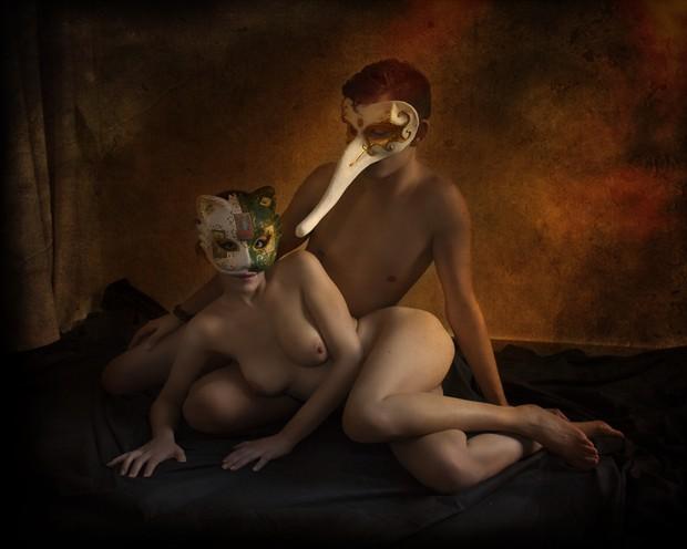 Venetian fantasy I Artistic Nude Photo print by Photographer Jos%C3%A9 M. Mendez