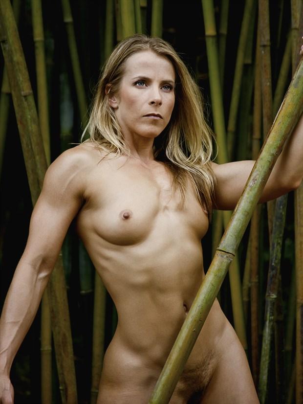 Warrior Goddess Artistic Nude Photo print by Photographer Chris Gursky