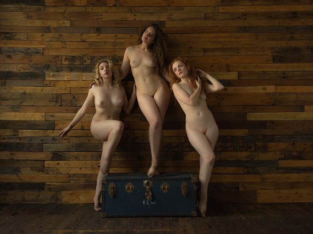 We Three Queens Artistic Nude Photo print by Photographer NeilH