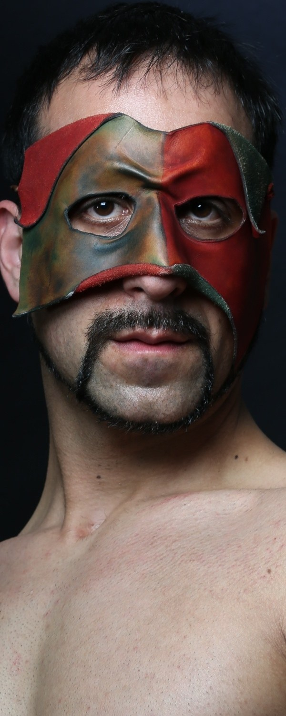 We all hide behind masks Fashion Photo print by Model Arash Sharifi