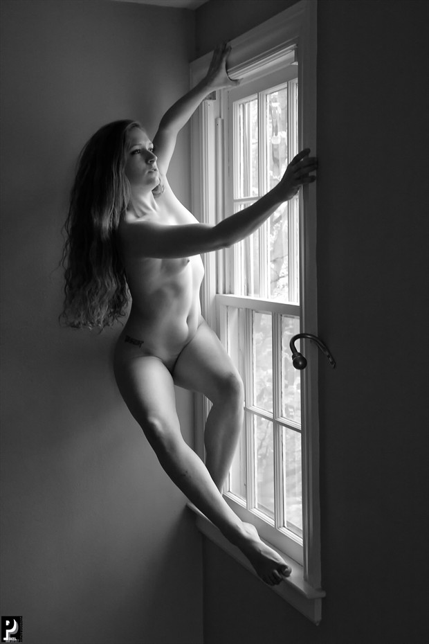 Window Light Nude Artistic Nude Artwork print by Photographer Thom Peters Photog