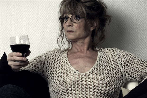 Wine Alternative Model Photo print by Photographer StudioVi2