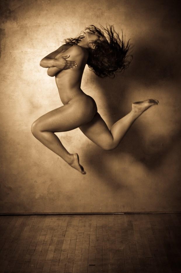 Wingless Angel Artistic Nude Photo print by Photographer Risen Phoenix