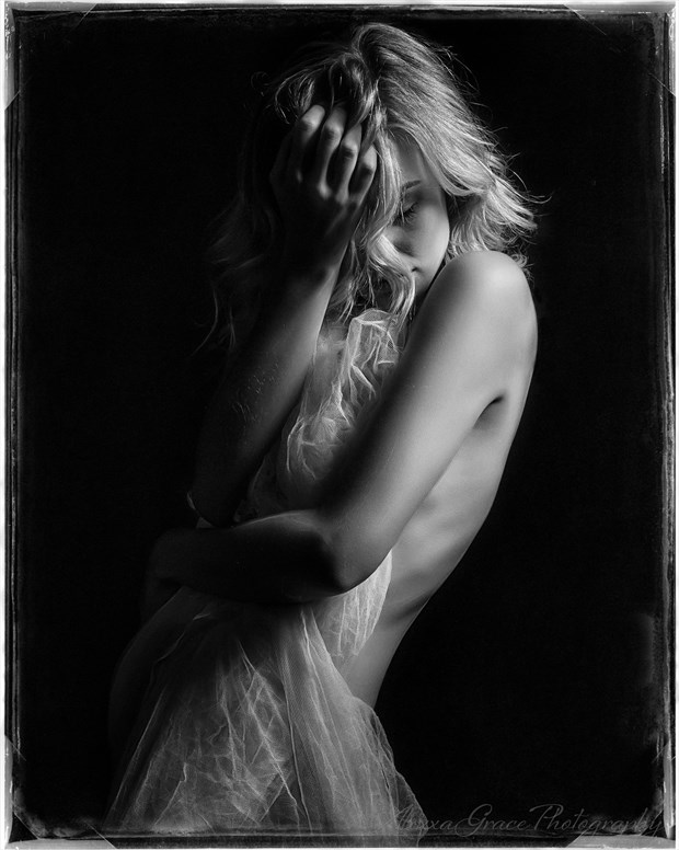 Wounded Glamour Photo print by Photographer AlexxaGrace