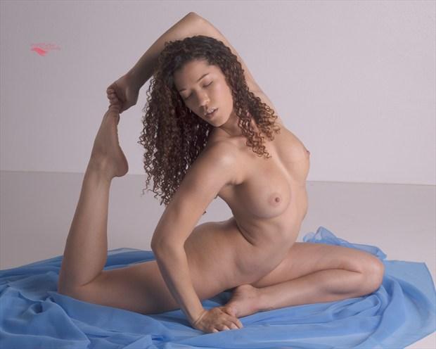 Yoga Artistic Nude Artwork print by Photographer Miller Box Photo