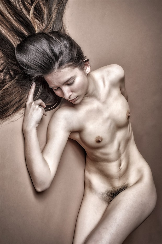 You have made your point Artistic Nude Photo print by Photographer rick jolson