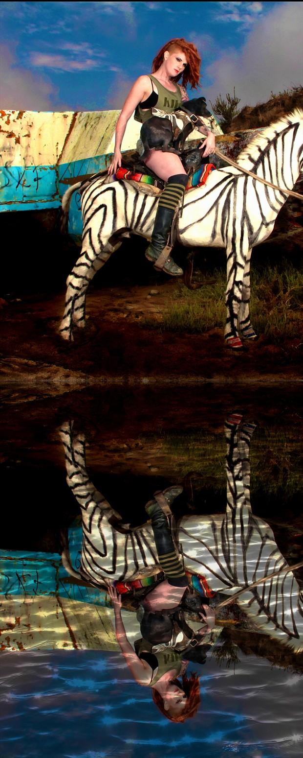 Zonkey Fashion Photo print by Photographer Scott Belding